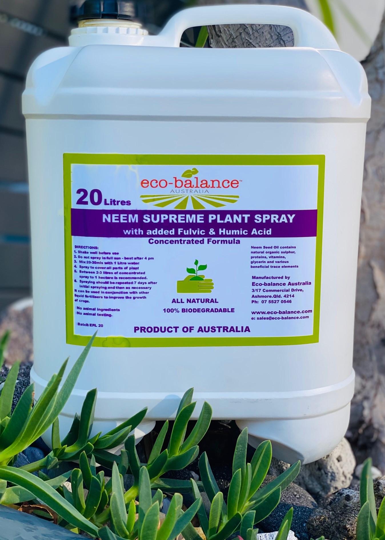 20 L Supreme Plant Spray Concentrate 2